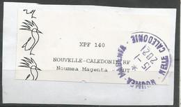 Cagous  Magenta  SUR FRAGMENT (clacamerou28) - Oblitérés