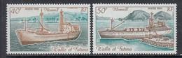 1990 Wallis & Futuna Moana II Ships  Complete Set Of 2 MNH - Neufs