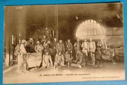 Carte Postale Ancienne  - Noeux Les Mines- Société De Sauveteurs - Mijnen