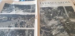 LA VANGUARDIA BARCELONE /EL FRENTE DEL GUADARAMA /PRESIDENTE GENERALIDAD MENORCA  REPUBLICA/ - Unclassified