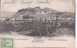 Gréce Thésée  Acropole - Greece