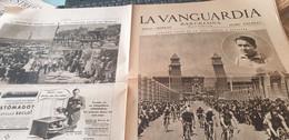 LA VANGUARDIA BARCELONE /18 VUELTA CATALUNA CANARDO/MISS FRANCIA 1936 - Unclassified