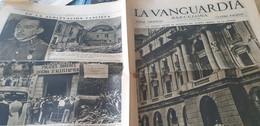 LA VANGUARDIA BARCELONE /CUARTEL GENERAL DE LA DIVISION/GENERAL ARANGUREN GENERALES FACCIOSOS/REBELION MILITAR - Unclassified