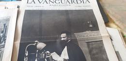 LA VANGUARDIA BARCELONE /NEGUS/NOTAS GRATIFICAS DEL EXTRANJERO/MADRID FUEGO - Unclassified