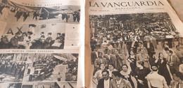 LA VANGUARDIA BARCELONE /LAS RAMBLAS AVIACION//ZARAGOZA /NORMALIZACION DE LA VIDA EN NUESTRA CIUDAD - Unclassified