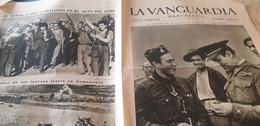 LA VANGUARDIA BARCELONE /LARGO CABALLERO /SOMOSIERRA MINISTRO DE LA GUERRA CASTELLO/AERONAUTICA NAVAL - Unclassified