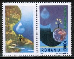 CEPT 2001 RO MI 5573 Zf ROMANIA - 2001