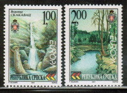 CEPT 2001 BA SERBISCHE REPUBLIK MI 200 A - 01 A BOSNIA AND HERZEGOVINA - SERBIA - 2001