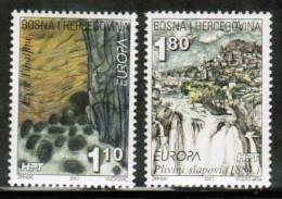 CEPT 2001 BA POST MOSTAR MI 70-71 BOSNIA AND HERZEGOVINA - 2001