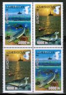CEPT 2001 AZ MI 494D-95D (4pcs) AZERBAIJAN - 2001