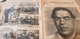 LA VANGUARDIA BARCELONE /NUEVO PRESIDENTE /LAS FUERZAS LELES SIGUEN /MALLORCA/NUEVO CONSEJO DE LA GENERALIDAD - Unclassified