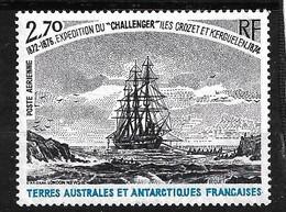 """TAAF  Poste Aérienne N° 53 Voilier """"Challenger""""  Crozet 1874  Neuf * * TB = MNH VF            Voir Scan Soldé      ! ! ! - Luchtpost"""