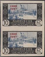1948. (*) Edifil: CABO JUBY 172s(2). SIN DENTAR - Cabo Juby