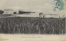 FRANCE - SEGONZAC - Château De Segonzac - Près De Blaye - 1905 - Blaye
