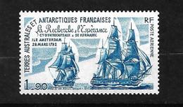 """TAAF  Poste Aérienne N° 58  Bateaux """" La Recherche"""" Et """" L'espérance""""  Neuf * * TB = MNH VF  Voir Scan Soldé      ! ! ! - Luchtpost"""
