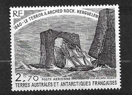 """TAAF  Poste Aérienne N° 58  Bateaux """" Le Terror"""" Kerguelen""""  En 1840   Neuf * * TB = MNH VF  Voir Scan Soldé      ! ! ! - Luchtpost"""