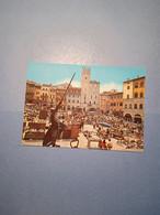 ITALIA-TOSCANA-AREZZO-PIAZZA VASARI-FIERA ANTIQUARIA-FG - Arezzo