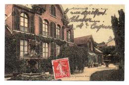 (51) 578, Courtisols, Colorisée Toilé, Maison Massez Vue Du Parc - Courtisols