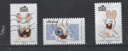 "France  2020   YT / Du Carnet  "" The Lapins Crétins "" - Used Stamps"