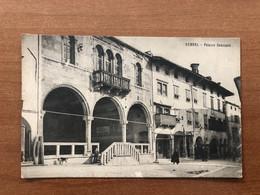 GEMONA (UDINE) PALAZZO COMUNALE 1908 - Udine