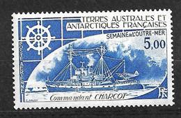 """TAAF  Poste Aérienne N° 72 Bateaux """" Commandant Charcot   """"   Neuf * * TB = MNH VF  Voir Scan Soldé      ! ! ! - Luchtpost"""
