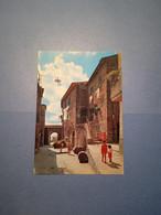 ITALIA-TOSCANA-PIANCASTAGNAIO-SCORCIO CARATTERISTICO-FG- - Andere Steden