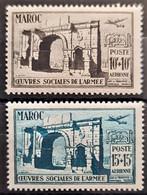 MAROC 1950 - MNH - YT 79, 80 - Nuovi