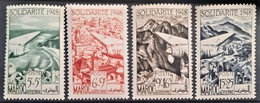 MAROC 1949 - MNH - YT 70-73 - Poste Aérienne - Nuovi