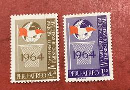 Peru 1964 Basketball - Perú