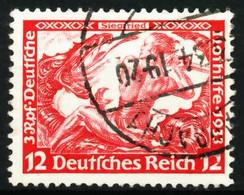 3. REICH 1933 Nr 504A Gestempelt X667B02 - Usati
