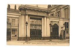 Lille - Quartier Général Du 1er Corps D'armée - 279 - Lille