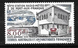 TAAF  Poste Aérienne  N° 147 Station Météo Port Aux Français    Neuf * * TB =MNH VF  Voir Scan Soldé ! ! ! - Luchtpost