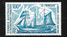 """TAAF  Poste Aérienne  N° 38 Voilier """" Le Français  """"   Neuf (* ) TB    Voir Scan    Soldé ! ! ! - Luchtpost"""