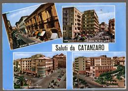 °°° Cartolina - Saluti Da Catanzaro Vedute Nuova (l) °°° - Catanzaro
