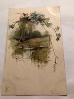 WINKLER & SCHORN NURNBERG - SONNENSCHEIN SÉRIE GES GESCHUTZT 99115 ( 5 Cartes) - Ante 1900