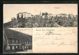 CPA Lützelstein, Gasthaus Zu Den 3 Rosen, Festung - Unclassified