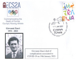 (FF 27) (Australia) COVID-19 Pademic Related Death - Olympian - Giovanni Zucci (19th January 2021) Rowing - Ziekte