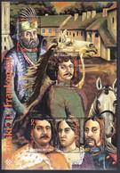 Croatia 1996 / Zrinski I Frankopani / The Zrinskis And The Frankopans / MINT Stamp Block - Croacia