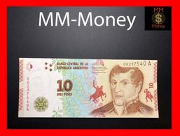 ARGENTINA 10 Pesos 2016  P. 360 Serie A  UNC - Argentina