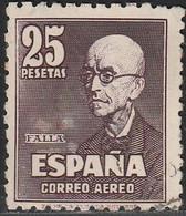1947. º Edifil: 1015. FALLA. - 1931-50 Ongebruikt