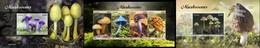 Liberia 2020, Mushrooms, Insect, 4val In BF +2BF - Sonstige