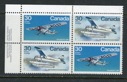 "Canada PB MNH 1982 ""Bush Aircraft"" - Unused Stamps"