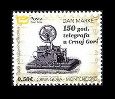 Montenegro 2020 Mih. 456 Telegraph In Montenegro MNH ** - Montenegro