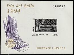 1994. ** Edifil: Prueba De Lujo 31. DIA DEL SELLO - 1991-00 Ongebruikt