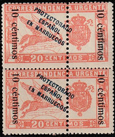1920. ** Edifil: MARRUECOS 66(2) - Spanish Morocco