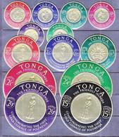 TONGA  128-133,  C1- C6, CO 7  **   COINS - Tonga (1970-...)