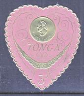 TONGA  136   **   HEART - Tonga (1970-...)