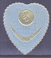 TONGA  137   **   HEART - Tonga (1970-...)
