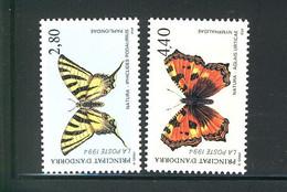 PRINCIPAT D'ANDORRA BUTTERFLIES - Schmetterlinge