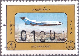 AFGHANISTAN-1989-AIRCRAFT- BOENIG -OVPT 01200-MNH-A4-502 - Afghanistan